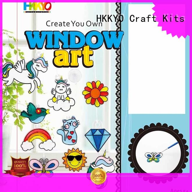 HKKYO rock scrapbooking kits manufacturers for painting craft
