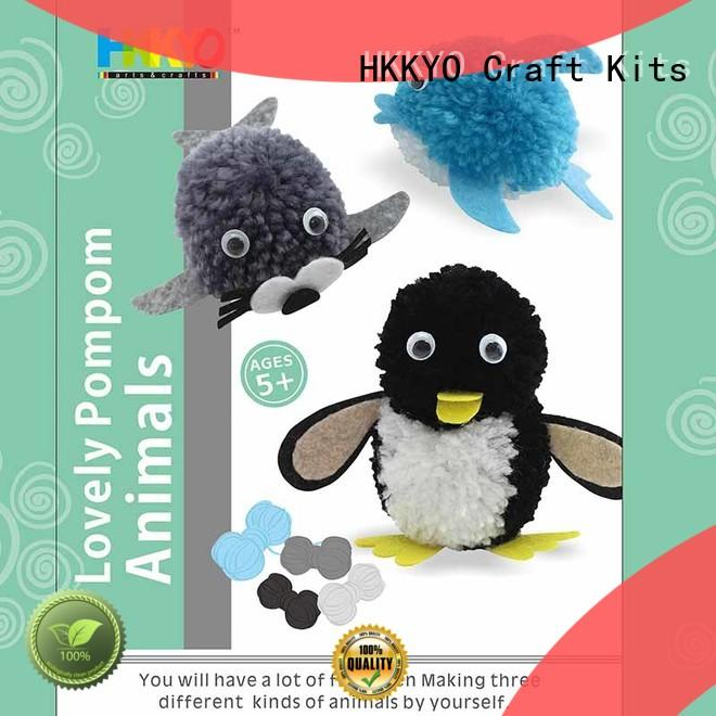 lovely craft kits yarn long service life for decoration