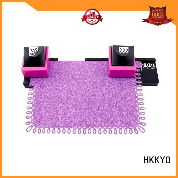 HKKYO mini craft hole punch long service life for DIY scrapbook