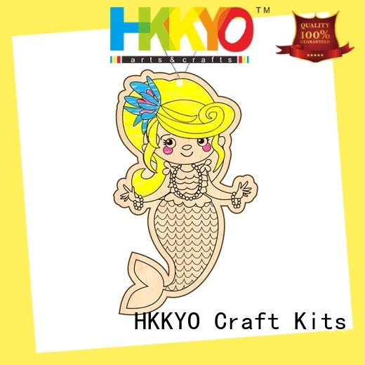 HKKYO ceramic craft kits for kids for business for window art