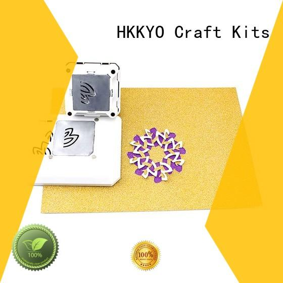 creative everywhere window punch supplier for birthday cards HKKYO