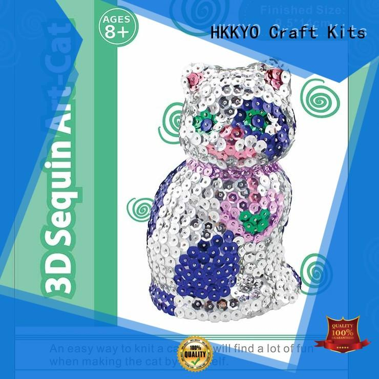 HKKYO painting scrapbook page kits educational for teenager