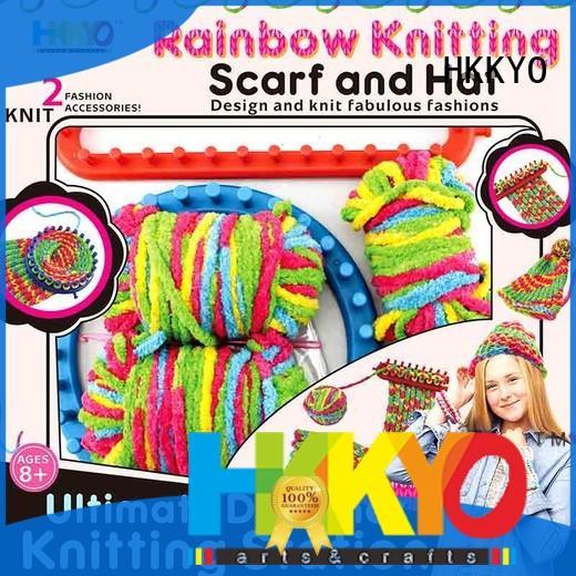 HKKYO hat diy craft kits fun for knit craft