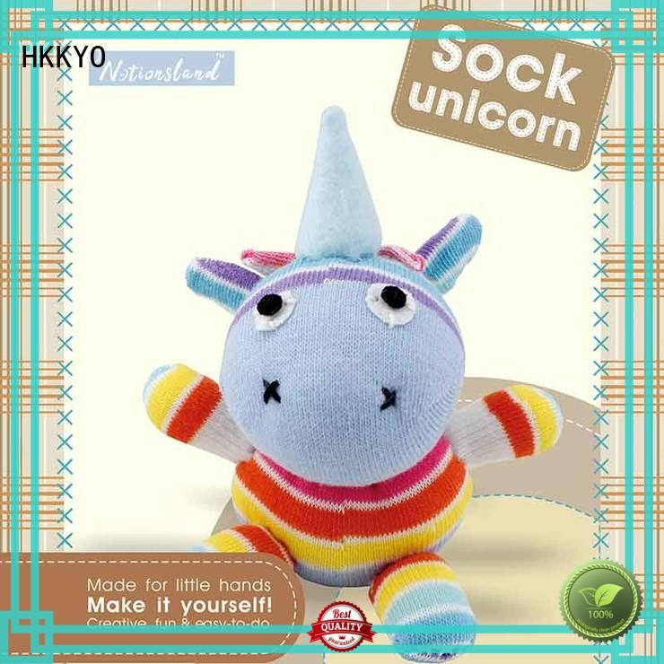 cute craft sets for boys animal sock manufacturer for DIY craft