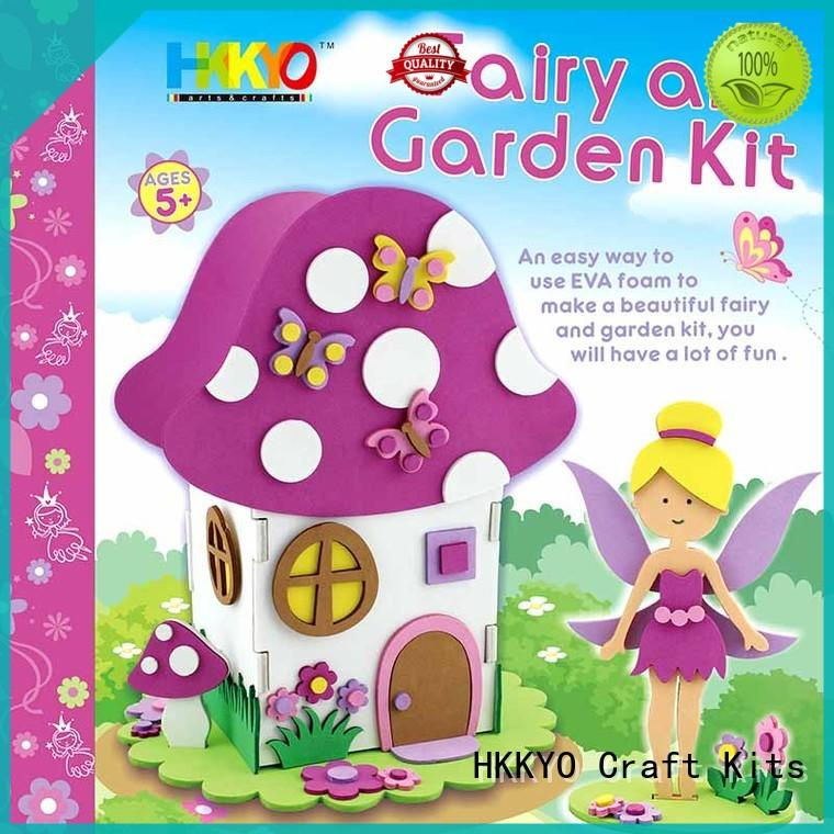 HKKYO hand sewing craft kits for kids supplier for Christmas gift