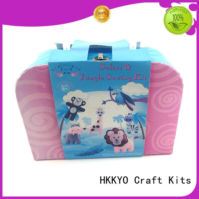 HKKYO creative art and craft sets for adults mermaid tail for rainy day craft