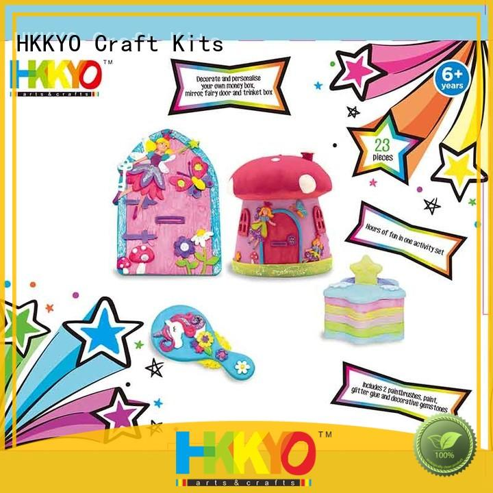 HKKYO educational craft sets easy-to-do for painting craft