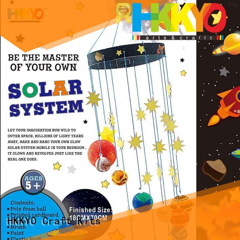 HKKYO interesting craft sets for kids mobile supplier
