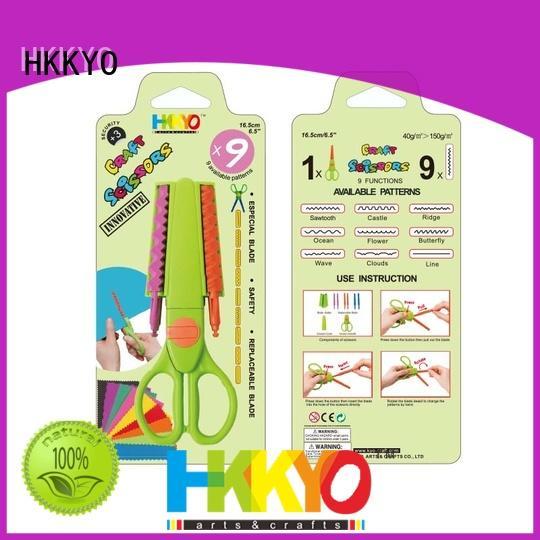 HKKYO ABS & Glass Fiber types of scissors for crafts wholesale for DIY crafts