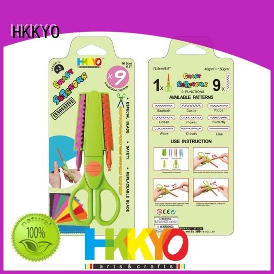 HKKYO ABS & Glass Fiber types of scissors for crafts wholesale for DIY crafts