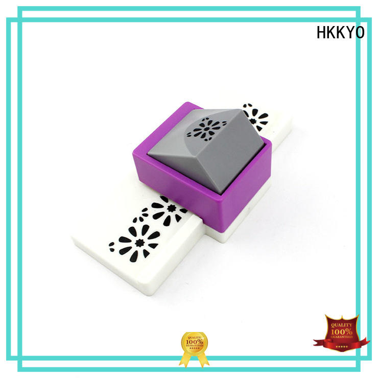 HKKYO embossing edge punch educational for paper craft