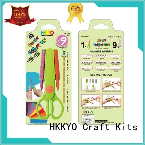HKKYO blade types of scissors for crafts wholesale for hands-on activity