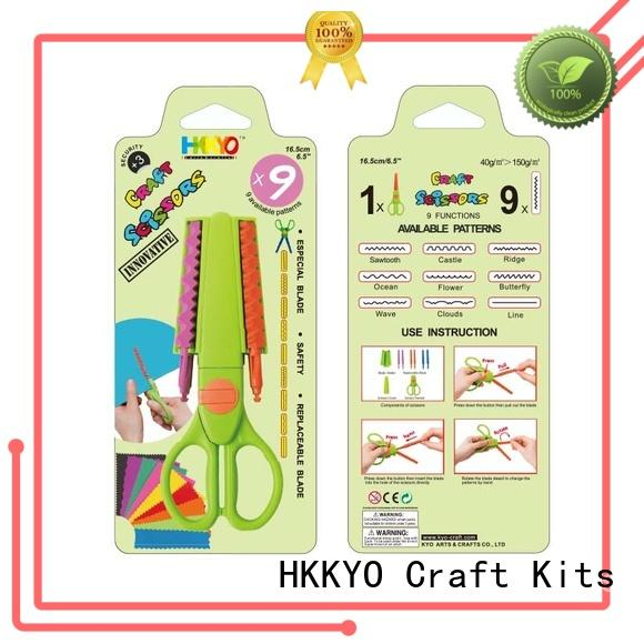 ABS & Glass Fiber craft scissors set incredible for gifts wrapping HKKYO