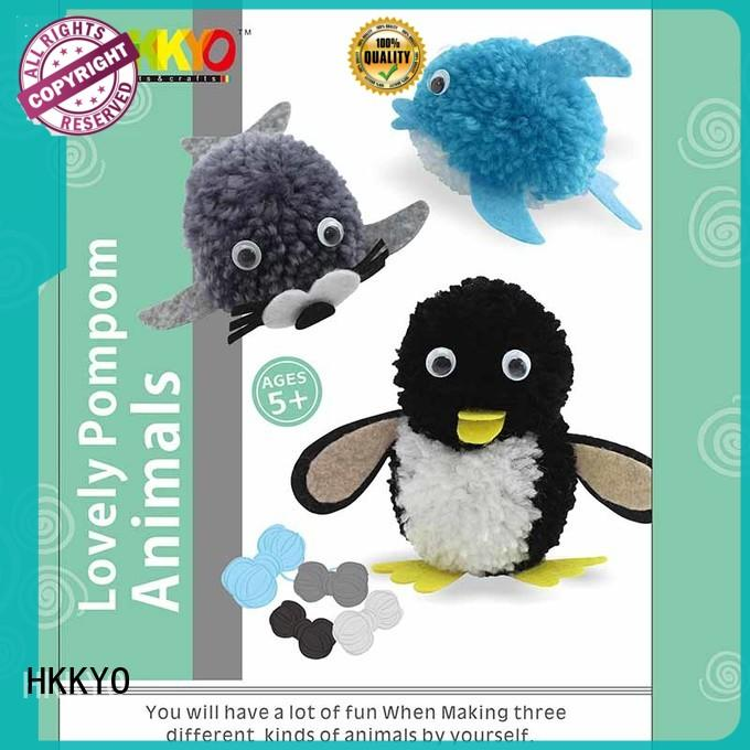 adorable craft kits animals wholesale for DIY craft