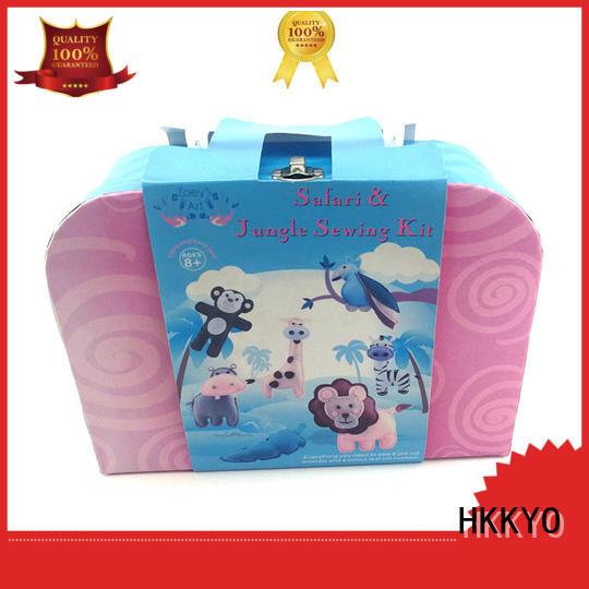 HKKYO Custom felt craft kits Suppliers for holiday presents