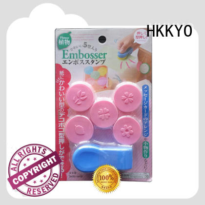 HKKYO easy-to-do punch craft tools convenient for envelopes