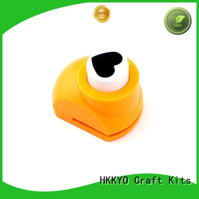 HKKYO convenient scrapbook punches manufacturer for kids DIY artwork