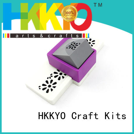 HKKYO ABS & Zinc Alloy border punch factory for greeting cards