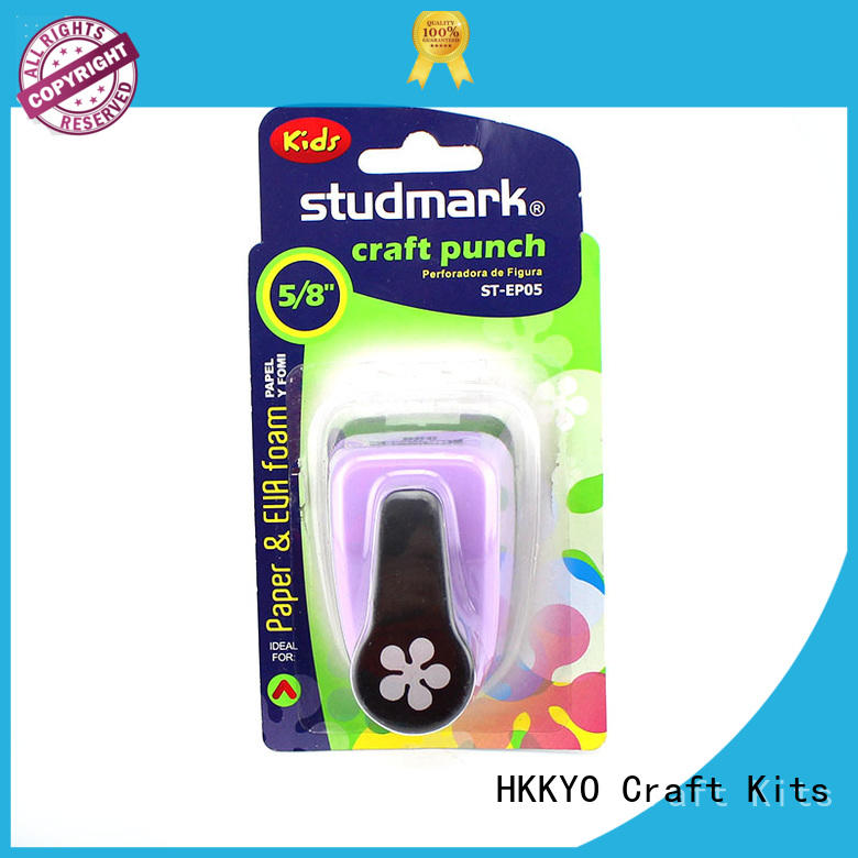 HKKYO scrapbooking paper shape punch long service life for gifts