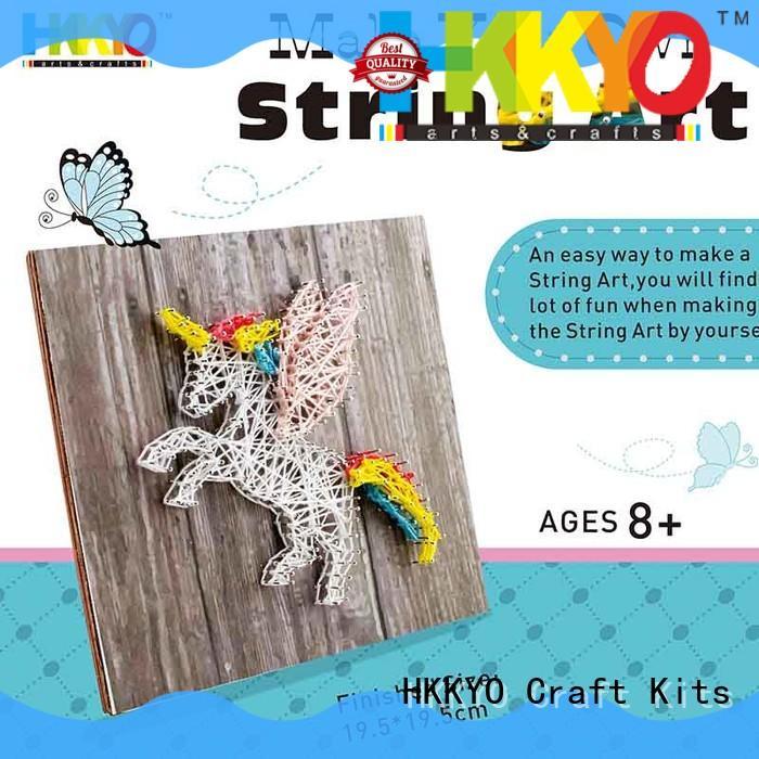 HKKYO beautiful craft set fun new patterns for birthday gifts