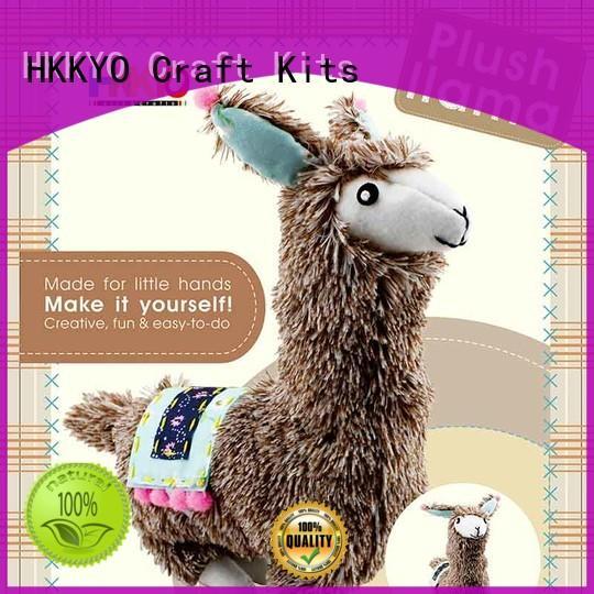 HKKYO flamingo scrapbook page kits educational for decor