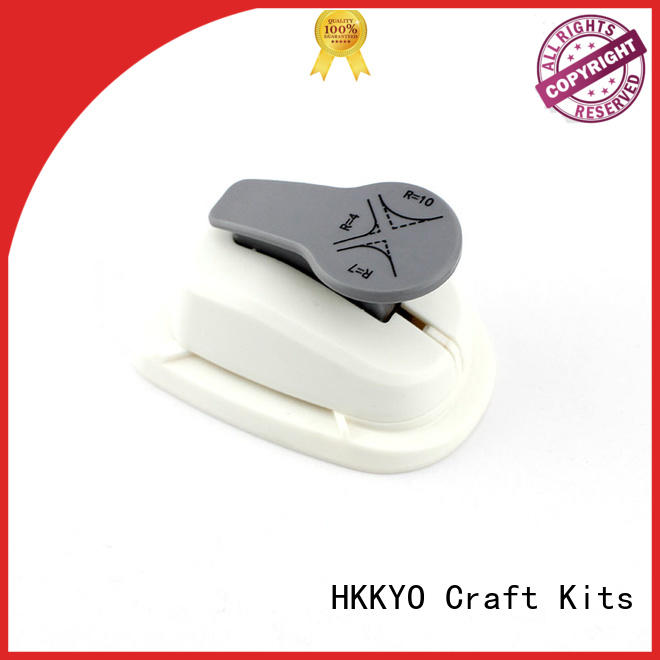 HKKYO sturdy corner paper punch easy storage for cards