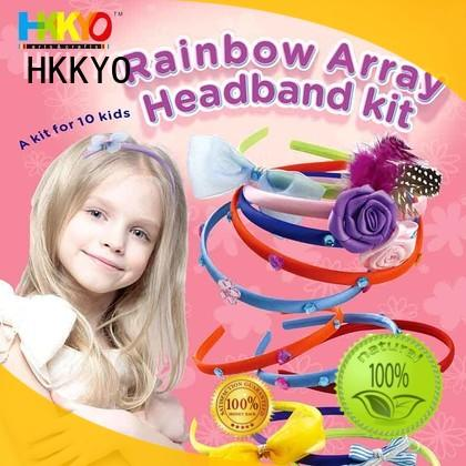 HKKYO ribbon arts and crafts kits Suppliers for girls