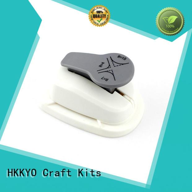 HKKYO convenient corner paper punch 3 ways for cards