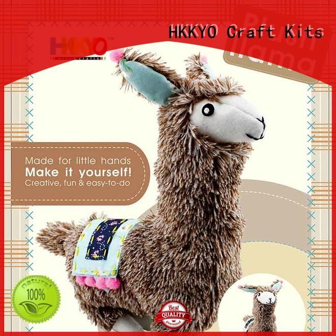 cat diy craft kits for kids yarnwrapped for teenager HKKYO