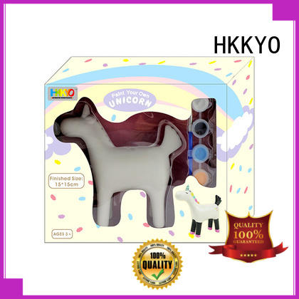 HKKYO ceramic craft kits for kids easy-to-do for window art
