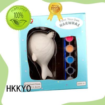 HKKYO unicorn mini craft kits manufacturer for painting craft