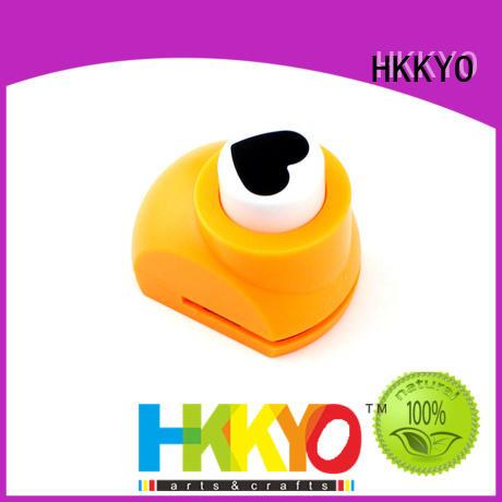 HKKYO colorful scrapbook hole punch supplier for kids DIY artwork