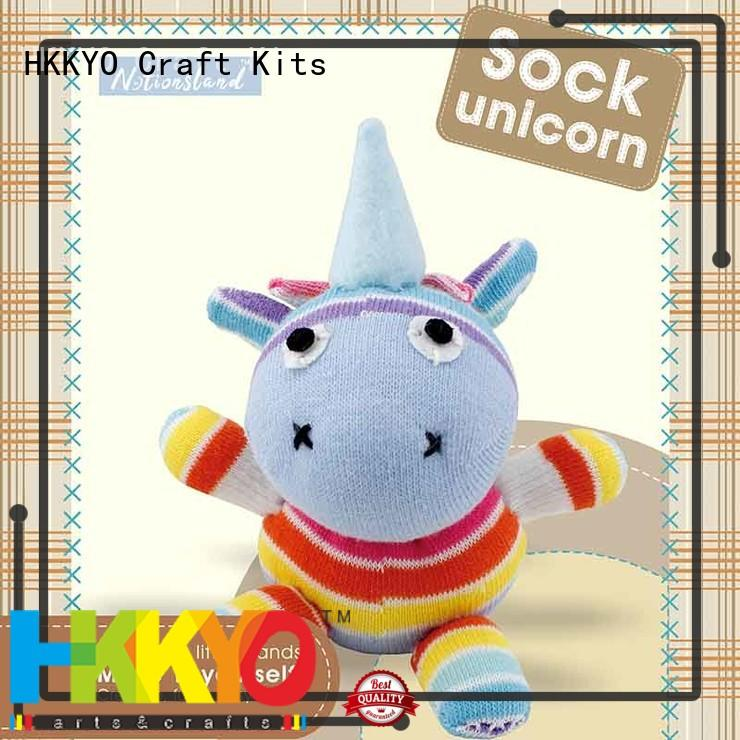 HKKYO animal sock complete scrapbook kit wholesale for DIY craft