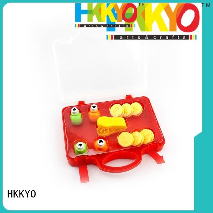 HKKYO embosser case craft punch set educational for kids craft