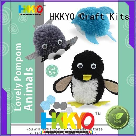 HKKYO felt shapes arts and crafts kits Supply for kids craft