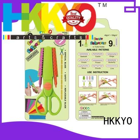 HKKYO many patterns craft paper scissors educational for gifts wrapping