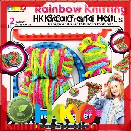 DIY diy craft kits plastic knitting needles ultimate design for knit craft
