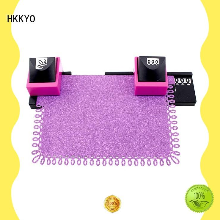 HKKYO easy-to-do paper craft punch set scrapbook for kids craft