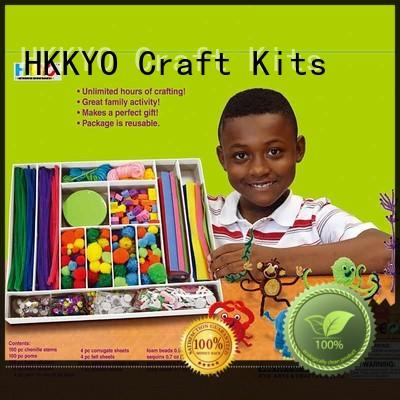 HKKYO New toy craft kits factory for making decoration