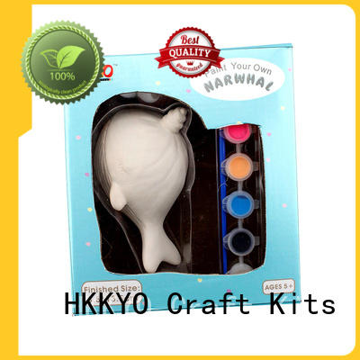 HKKYO suncatcher diy craft kits for kids easy-to-do for window art