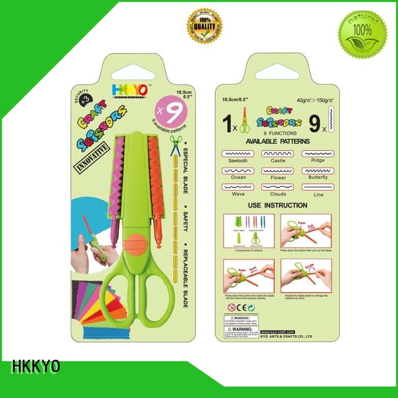 HKKYO ABS & Glass Fiber kids craft scissors for business for art & craft lovers