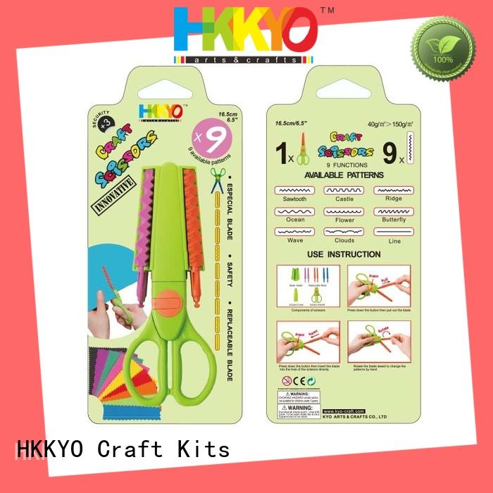 HKKYO safety craft scissors set incredible for hands-on activity