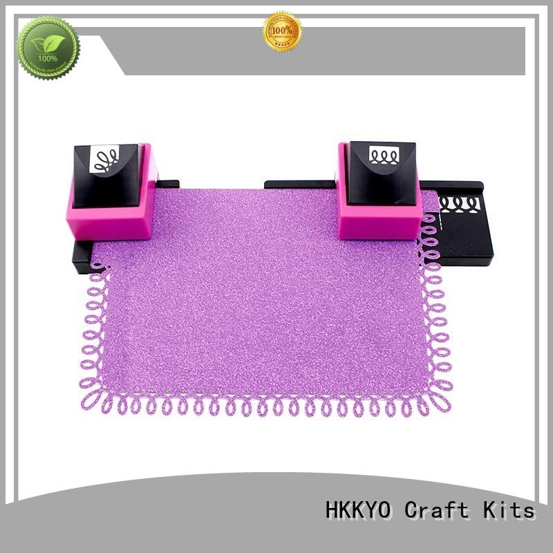 HKKYO border craft punch set Suppliers for greeting card