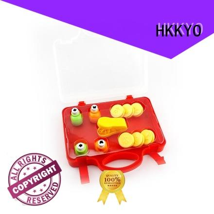 HKKYO around corner craft punch set manufacturer for greeting card
