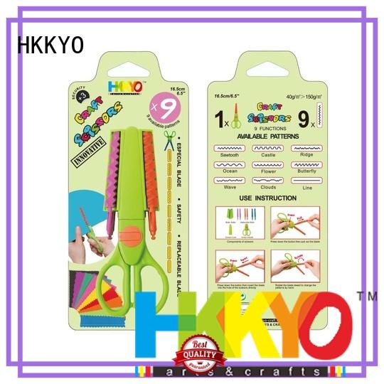 HKKYO ABS & Glass Fiber craft scissors incredible for art & craft lovers