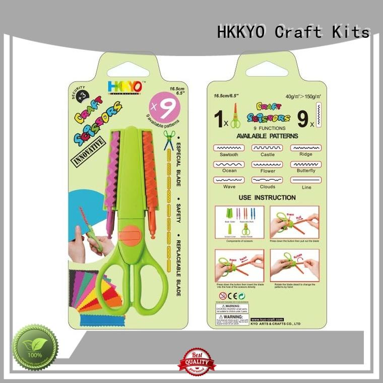 HKKYO ABS & Glass Fiber craft scissors manufacturer for gifts wrapping
