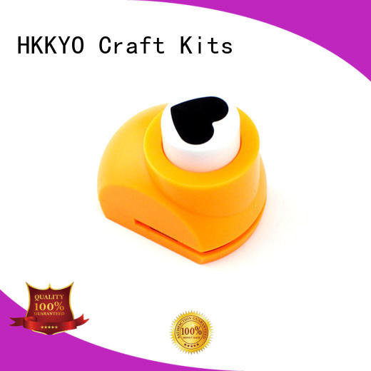 HKKYO colorful paper punches for scrapbooking multi patterns for kids DIY artwork