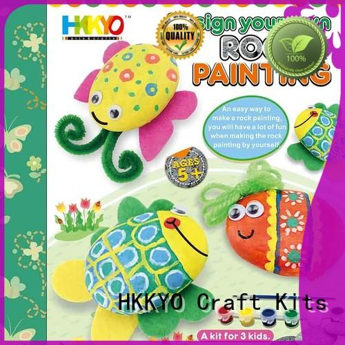 HKKYO narwhal scrapbook kit for girls do-it-yourself for painting craft