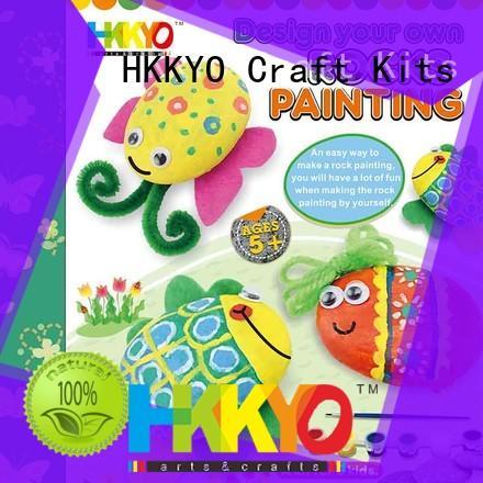 HKKYO birdhouse craft kits for kids DIY for window art