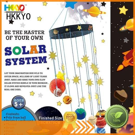 HKKYO educational craft kits for girls DIY manufacturer